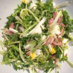 régime santé - salade de pissenlits aux lardons
